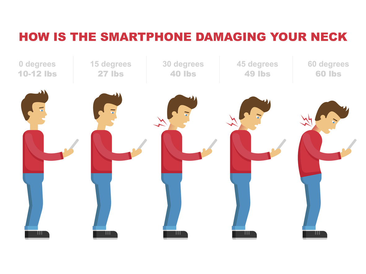 Proper Cell Phone Posture